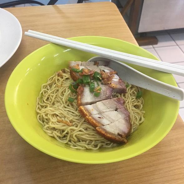 Kolo Mee With Roasted Pork @ Yang Seng