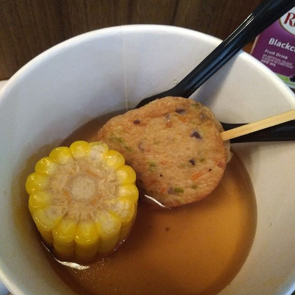 Fish Cake & Corn Oden Soup