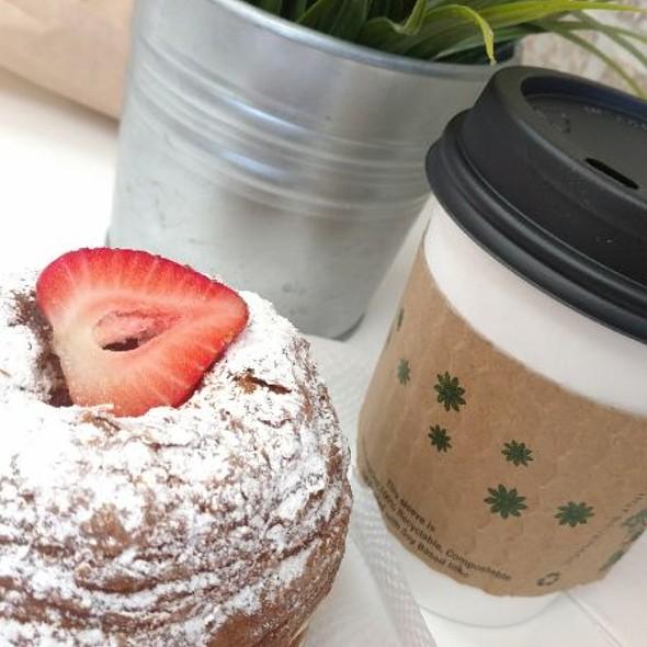 Strawberry Croissant Donut