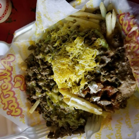 Carne Asada Fries @ Alberto's Mexican Food