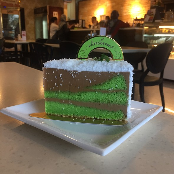 ONDEH-ONDEH CAKE  @ Pattiserie Cake Shop