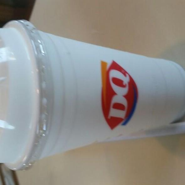 Vanilla Milkshake @ Dairy Queen