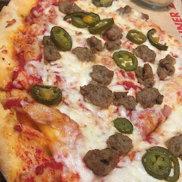 Sausage And Jalapeno Pizza