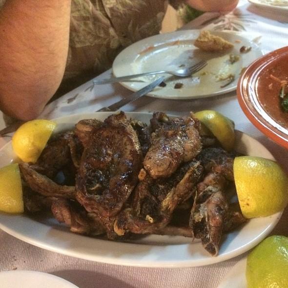 Grilled  Lambchops @ Taverna Anthoula