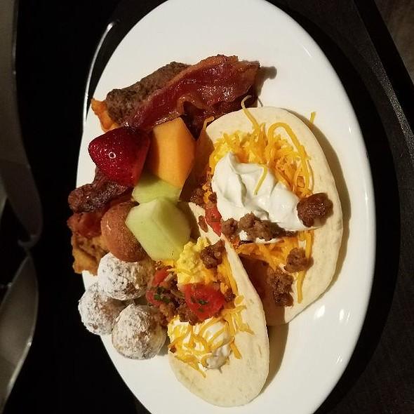 Items From Breakfast Buffet