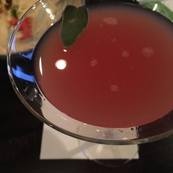 Blood Orange Sage Martini