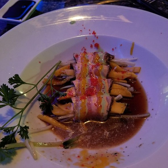 Mango Tuna Wrap