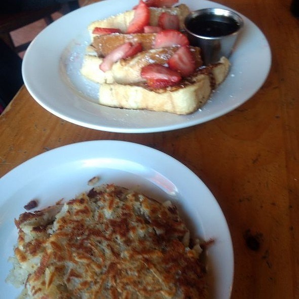 French Toast And Hash Browns