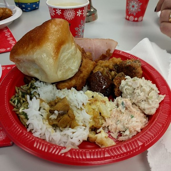 Holiday Potluck Lunch