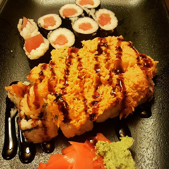 Tekka Maki and Muckleshoot Roll