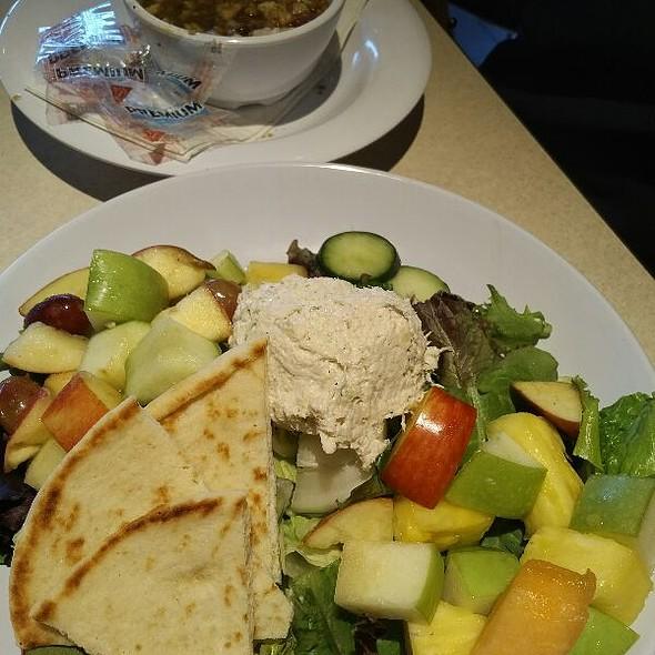Chicken Salad Pita Platter @ Zoe's Kitchen