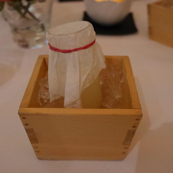Sake Yuzu Cocktail @ Nagaya