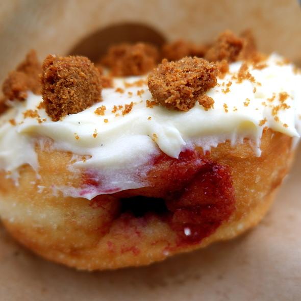 Blackberry Cheesecake Doughnut