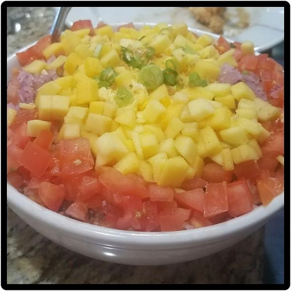 Binagoongan Fried Rice @ Boracay Garden & Grill