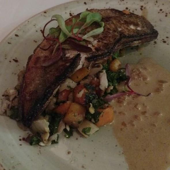 Great lakes walleye @ The Loft Restaurant & Dairy Bar