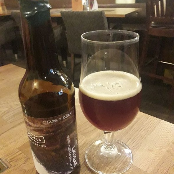 Laugas- barrel aged imperial gruit  @ Drink