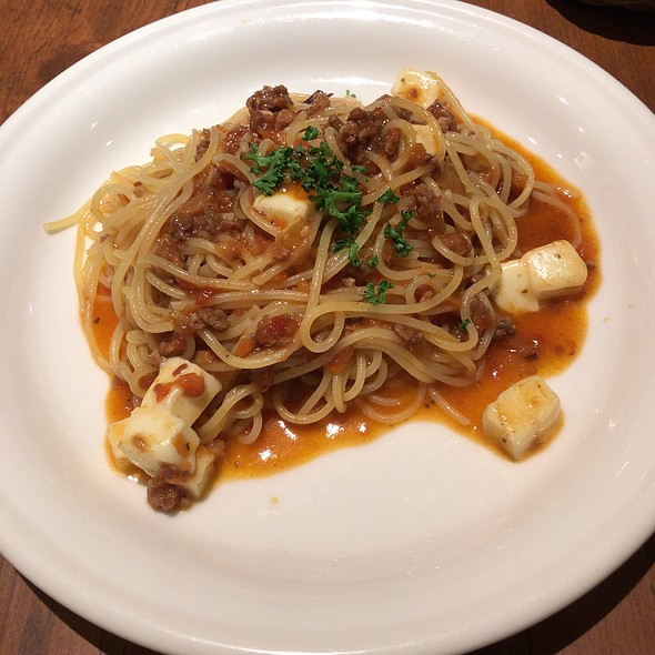 Bolognese With Mozzarella @ 渋谷 イタリアン 【KURA 渋谷店】