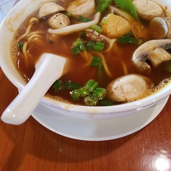 Hot & Sour Seafood Noodle Soup