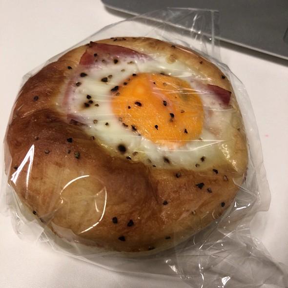 Ham & Egg Bread @ Unidentified Location in Tokyo