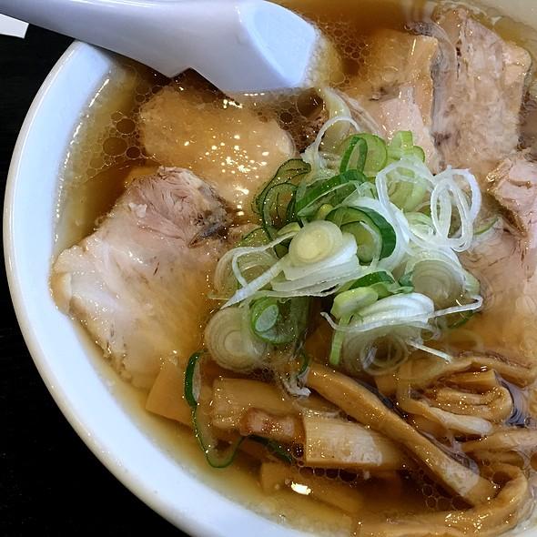 チャーシュー麺 @ Sano bamboo homemade ramen Yamato