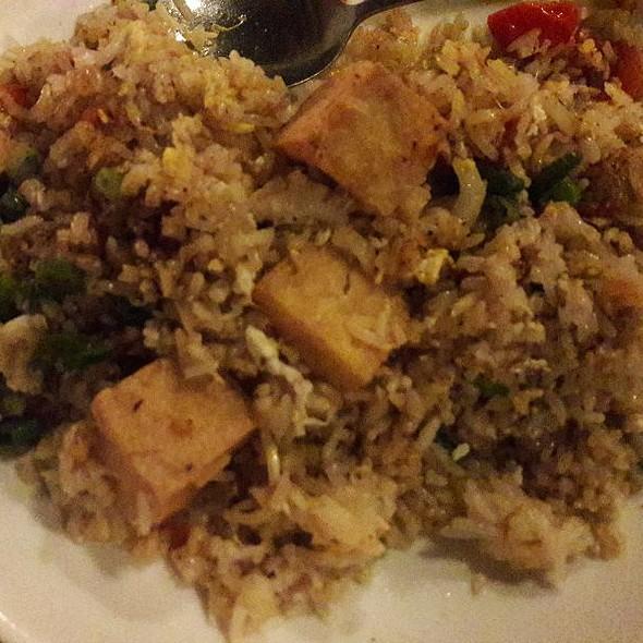 Fried Tofu Fried Rice  @ Baramee Thai Restaurant