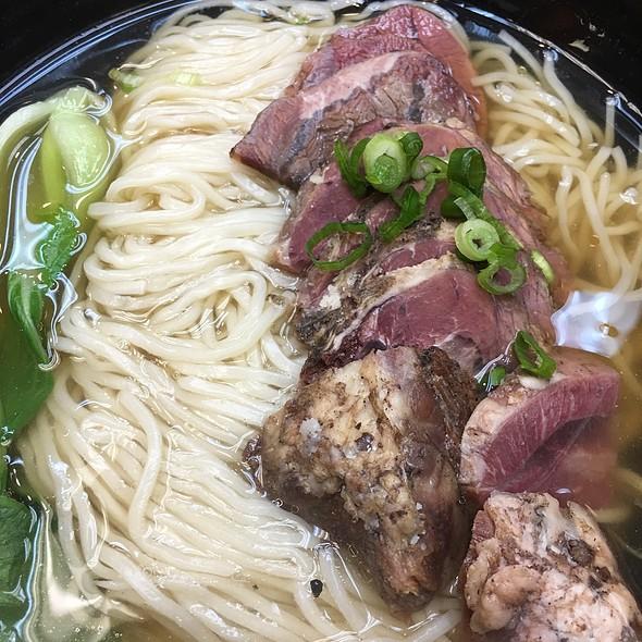 Sliced Beef Noodle Soup
