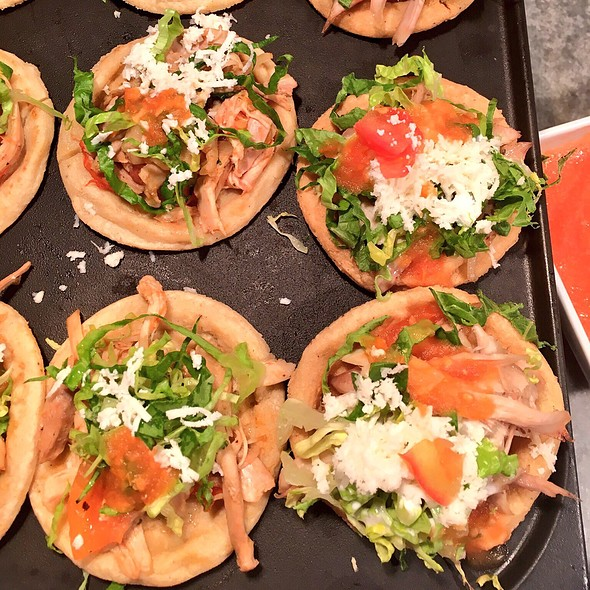 Chicken Sopes @ Grand Fiesta Americana Puerto Vallarta