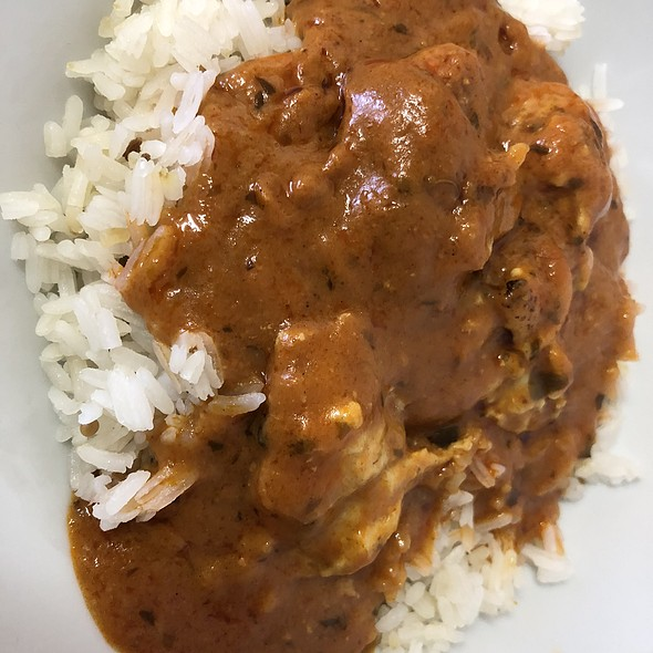 Butter Chicken Curry with Rice