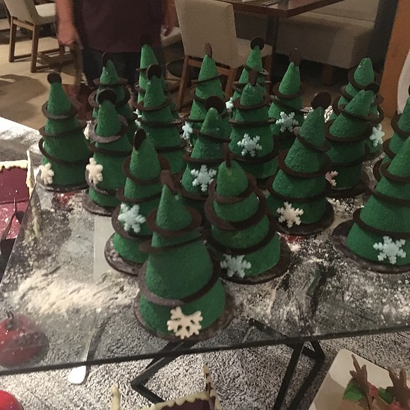 Mint Chocolate Trees @ Grand Fiesta Americana Puerto Vallarta