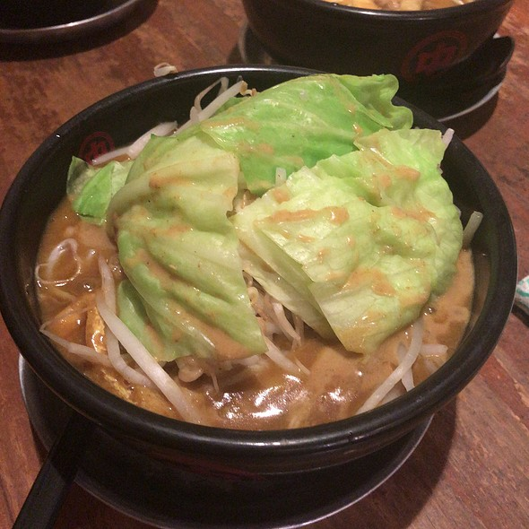 Mori Mori Cabbage & Bean Sprout Curry Udon
