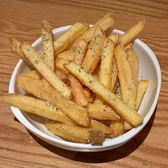 Sage and Onion Fries