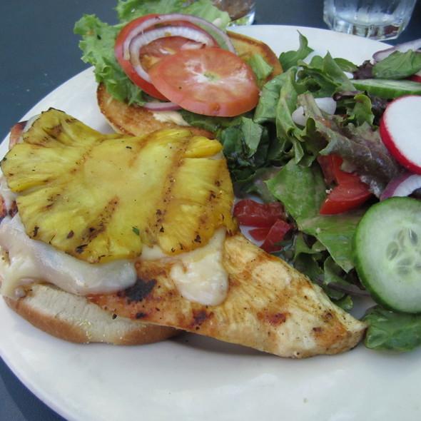 Chicken Teriyaki Burger - BluWater Bistro - Leschi, Seattle, WA