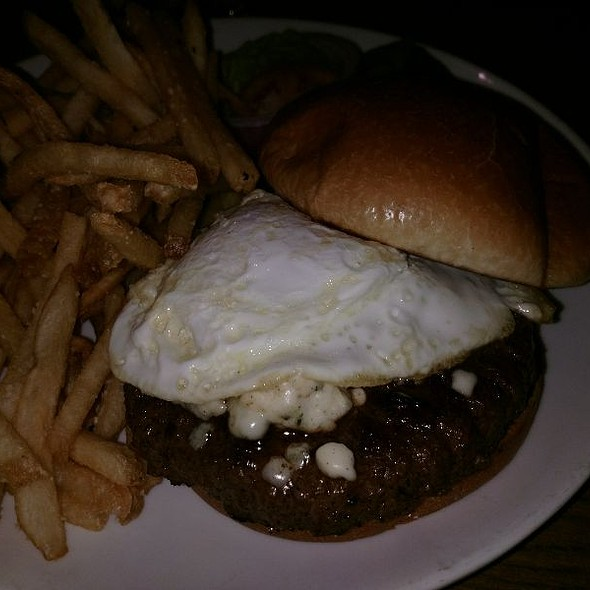 Packard's Burger With Fried Egg @ Packard's New American Kitchen