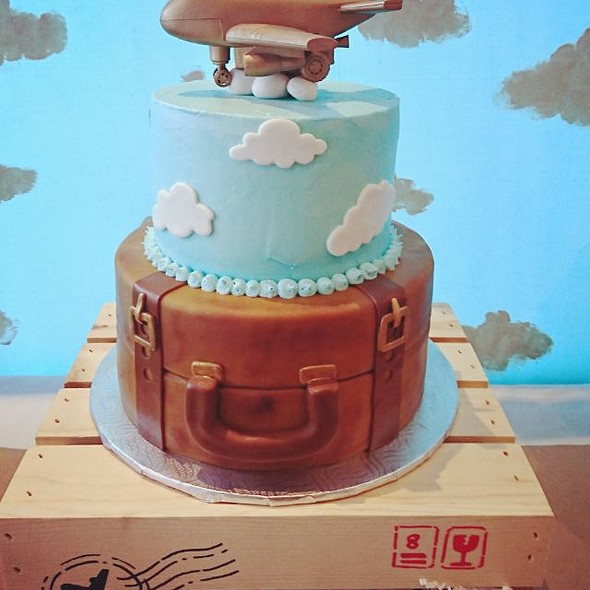 Aviation Themed Cake