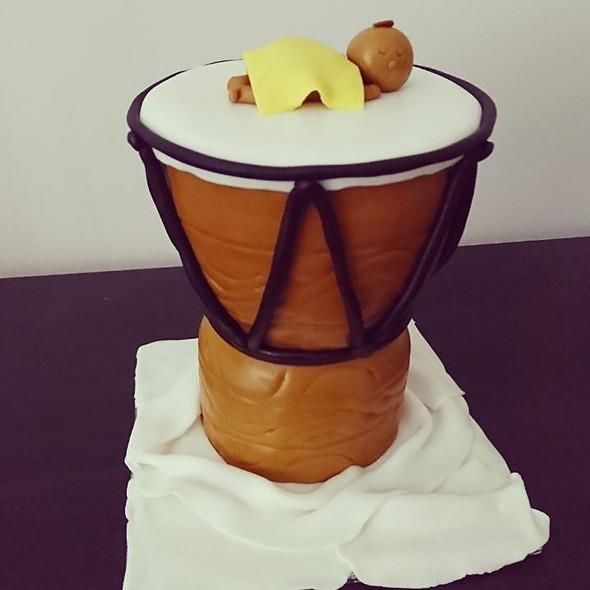 Djembe Drum Cake