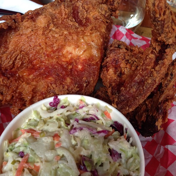 Fried Chicken & Cole Slaw @ Crawfords