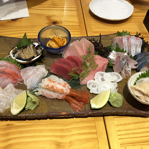 CHEF'S SPECIAL SASHIMI (FOR THREE) @ Rinka (Japanese Restaurant)