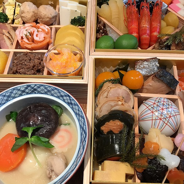 Osechi and Ozoni @ Cafe on The Lily Hill