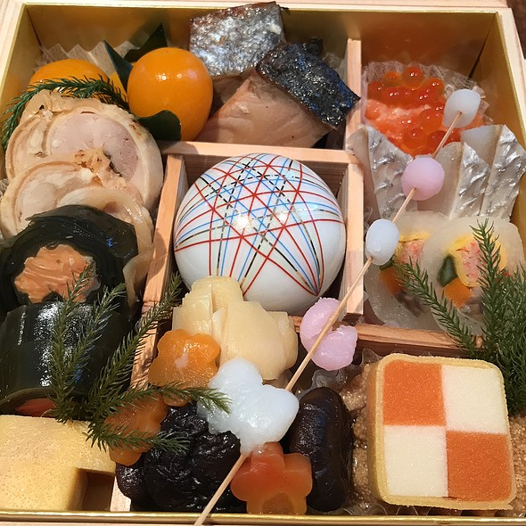 Osechi Box @ Cafe on The Lily Hill
