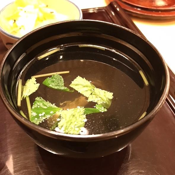 Kimosui ( Eel-Liver Soup ) @ Akasaka Fukinuke