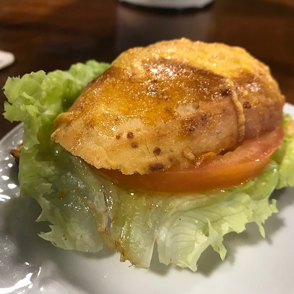 Lettuce, Tomato And Egg Tapa