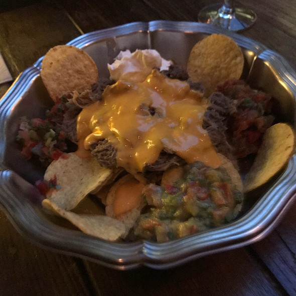 Pulled Cheek Nachos