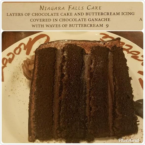 Niagara Falls Cake