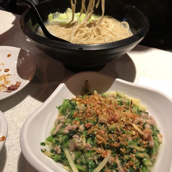 Pork & Pickled Vegetables Noodles