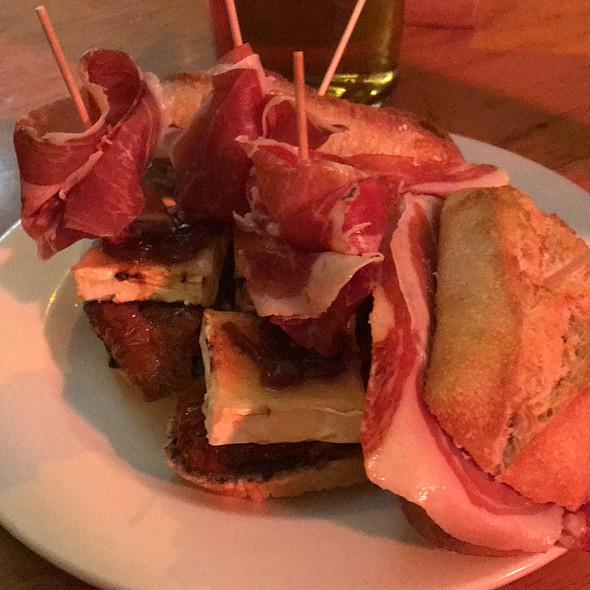 Serrano Ham and Goat Cheese Pintxos