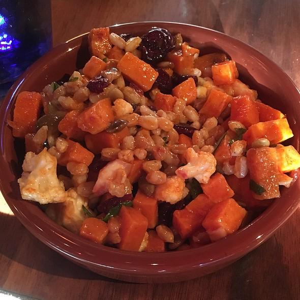 Farro & Sweet Potatoes