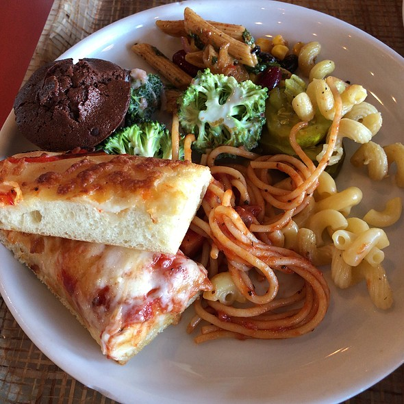 Carb Selections From The Buffet Table