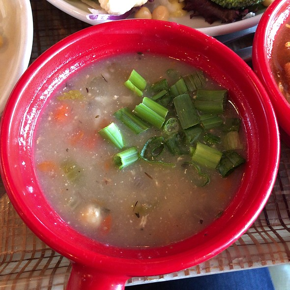 Winter Vegetables & Wild Rice Soup