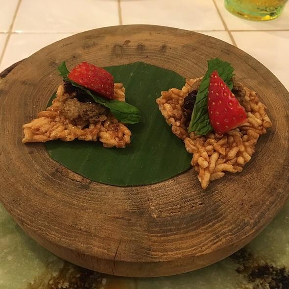 Rice, Strawberry, Chicken Liver @ Blackitch Artisan Kitchen