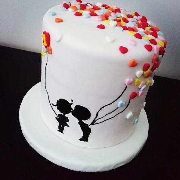 Anniversary Black Forest Cake